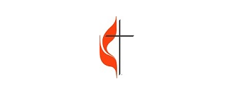 methodist cross and flame logo